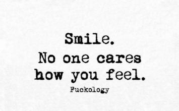 No feeling